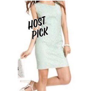 Jessica Simpson Asymmetrical Sequin Lace Dress